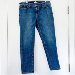 Eileen Fisher organic cotton straight leg jeans